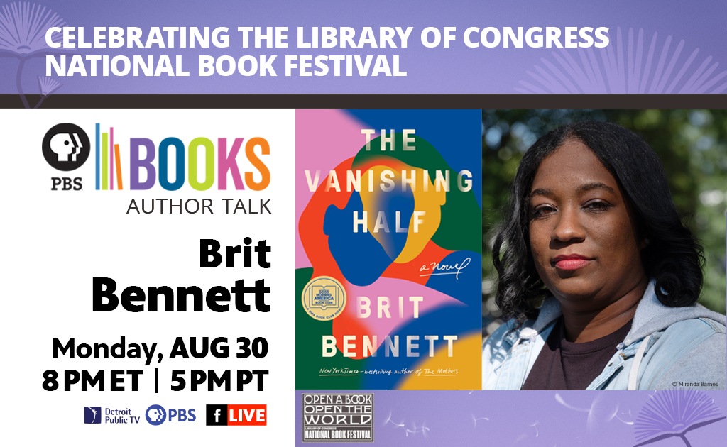 Celebrating the Library of Congress National Book Festival Author Talk: Brit Bennett