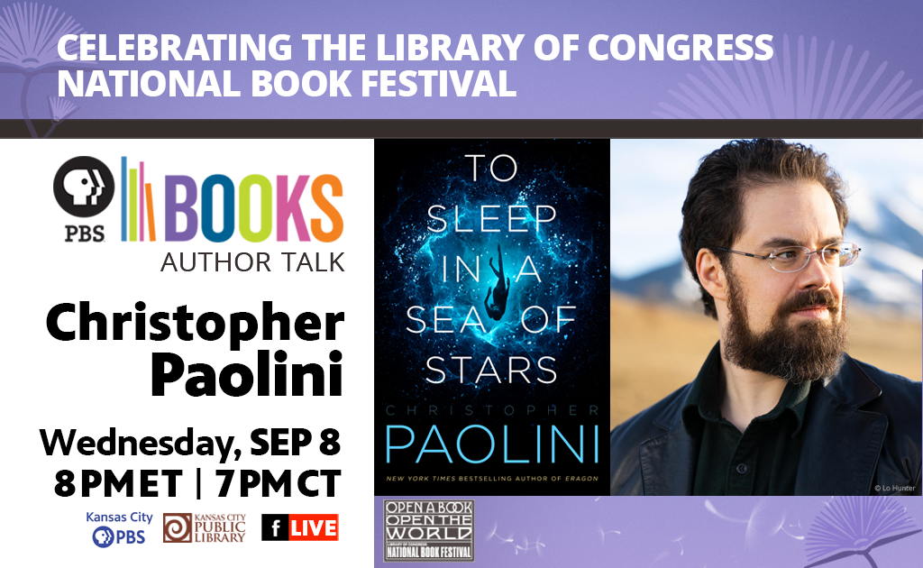 Celebrating the Library of Congress National Book Festival Author Talk: Christopher Paolini