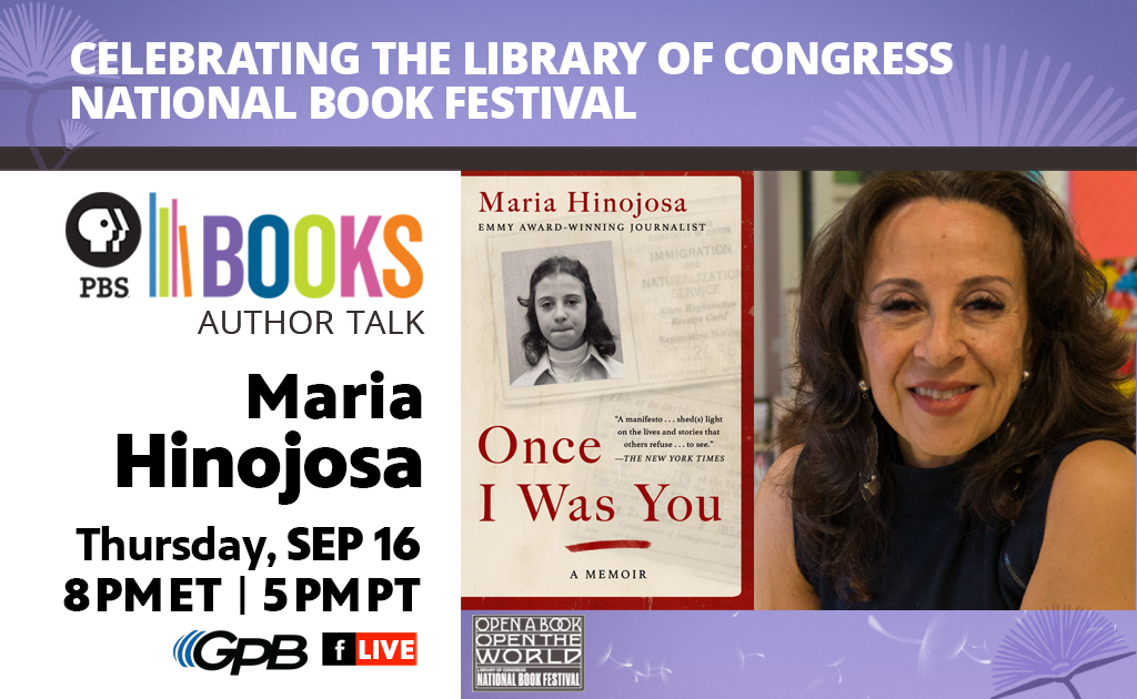 Celebrating the Library of Congress National Book Festival: Author Talk: Maria Hinojosa