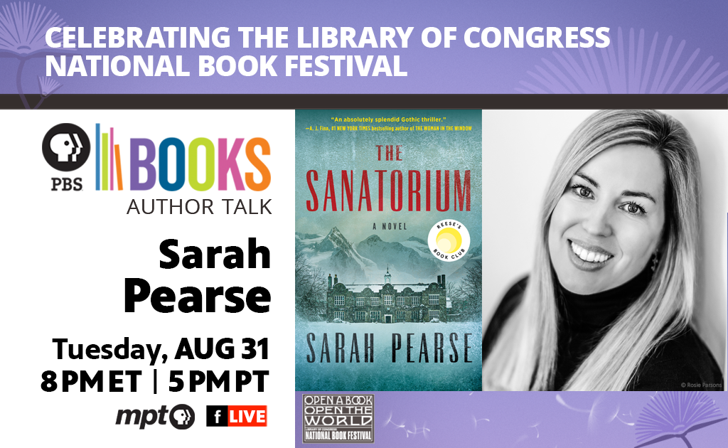 Celebrating the Library of Congress National Book Festival Author Talk: Sarah Pearse