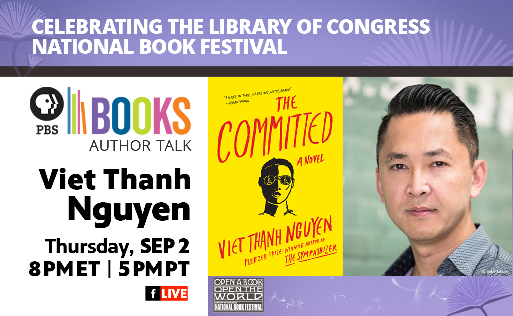 Celebrating the Library of Congress National Book Festival Author Talk: Viet Thanh Nguyen