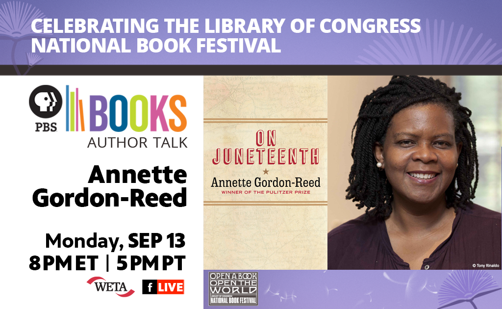 Celebrating the Library of Congress National Book Festival: Author Talk: Annette Gordon-Reed