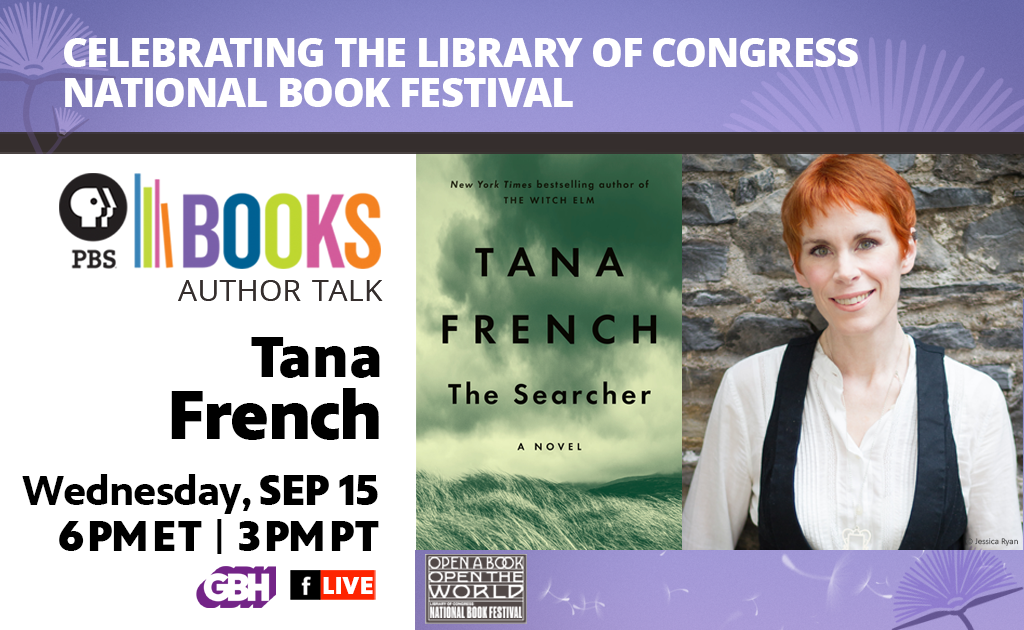 Celebrating the Library of Congress National Book Festival Author Talk: Tana French