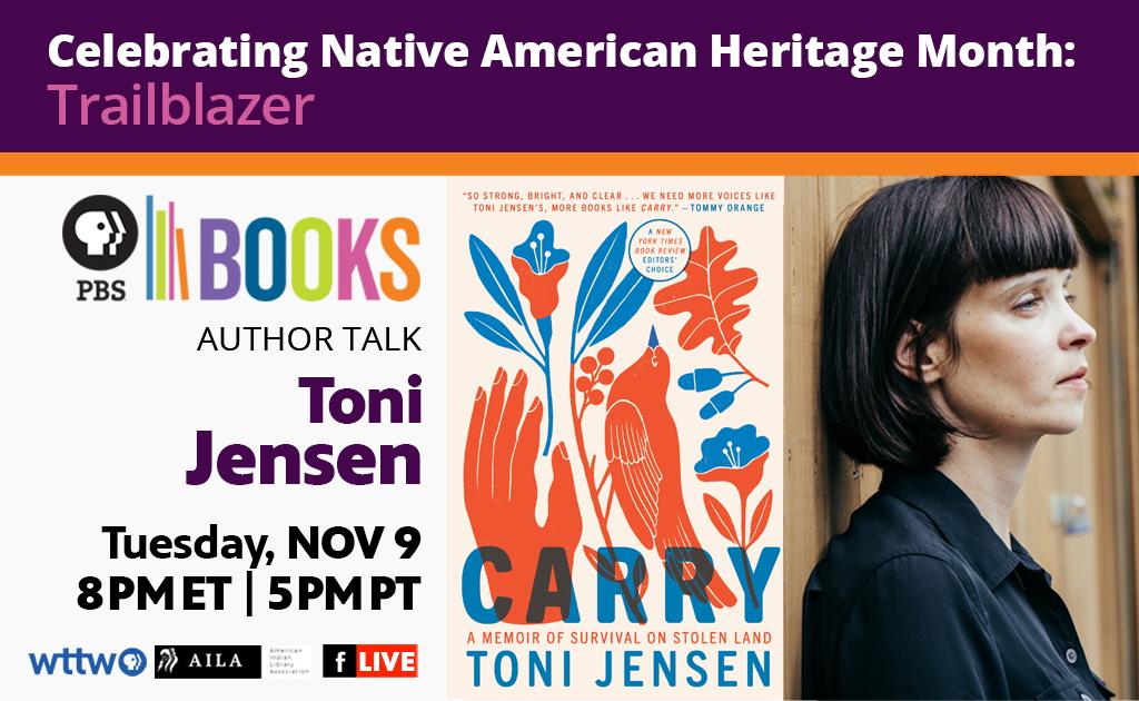 Celebrate Native American Heritage Month with Trailblazer Author: Toni Jensen